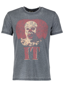 Online Exclusive 'It' Grey T-Shirt