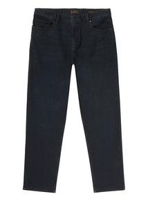 Indigo Wash Straight Denim Jeans