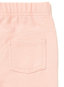 Light Pink Cat Jeggings (0-24 months)