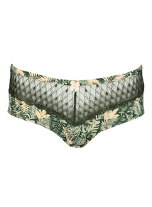 DD+ Exotic Safari Print Short Briefs