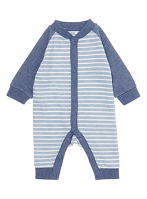 Boys Blue Stripe Layette (0 - 24 Months)