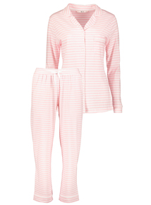 Pink Stripe Traditional Pyjamas