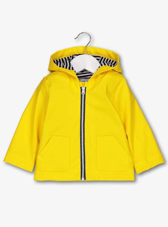 576148d02 Baby Yellow Rain Mac (0-24 Months) | Tu clothing