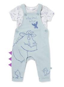 Green The Gruffalo Dungaree And Bodysuit Set (0-24 months)