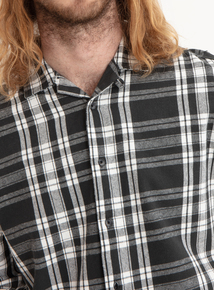 GFW Charcoal Check Flannel Shirt