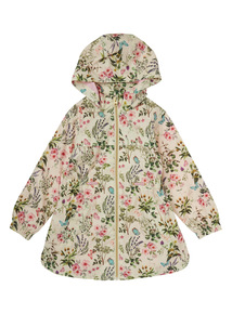 Multicoloured Floral Mac Raincoat (3 - 12 years)
