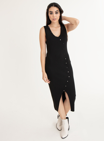 GFW Black Knitted Dress