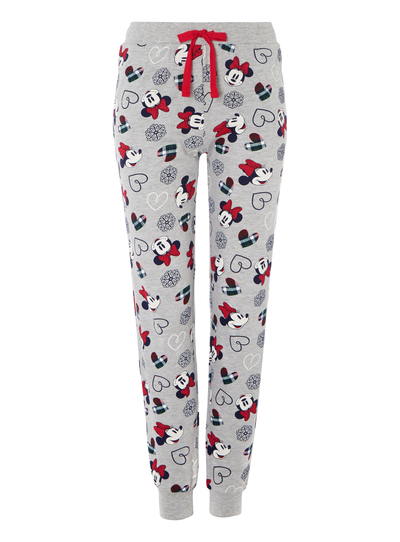 e368ea1e60 Womens Grey Disney Minnie Mouse Pyjama Bottoms