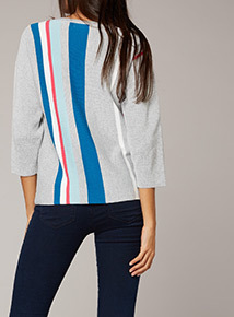 Premium Striped Knit Jumper