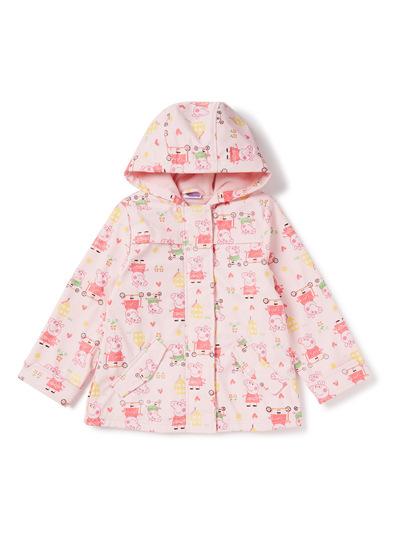 Kids Pink Peppa Pig Mac (9 months-6 years)   Tu clothing