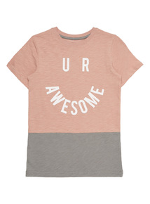 Boys Multicoloured U R Awesome Tee (4 - 14 years)
