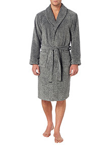 Grey Marl Wellsoft Gown