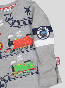 Grey Thomas The Tank Engine Long Sleeve T-Shirt (9 months to 6 years)