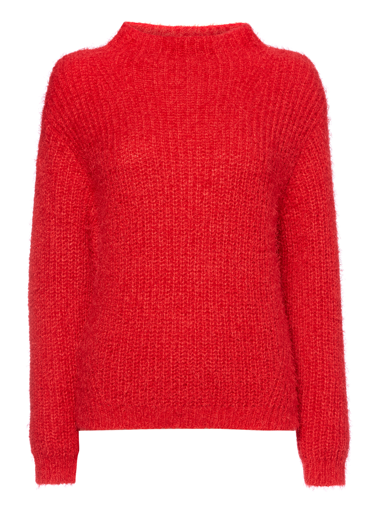 Womens Red Fluffy Knit Jumper | Tu clothing