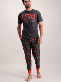 Marvel Comic Long Leg Men's Pyjamas