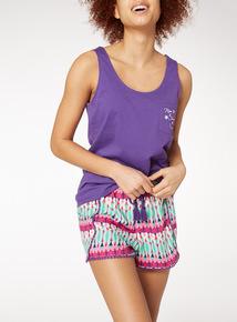 Geo Print Short Pyjamas