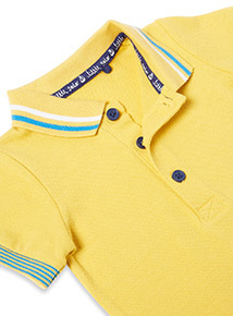 Yellow Polo Bodysuit (0-24 months)
