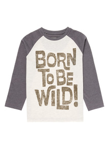 Multicoloured Wild Tee (9 months - 6 years)