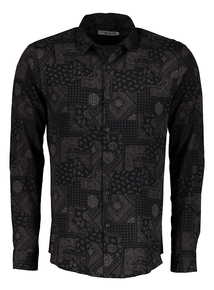 Frontman Paisley Print Shirt