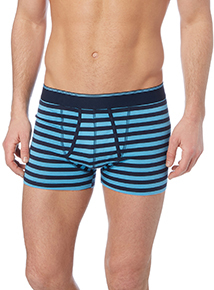 Grey Striped Trunks 3 Pack