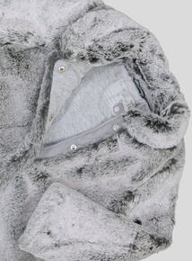 Grey Faux Fur Coat (9 Months - 6 Years)