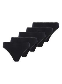 Black High Legs 5 Pack
