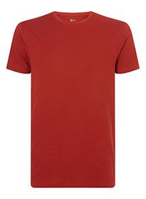 Burnt Orange Crew Neck T-Shirt