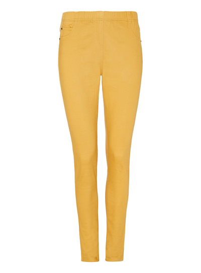 Womens Yellow Jeggings Tu Clothing