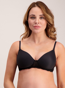 Maternity Black & White Nursing Bras 2 Pack