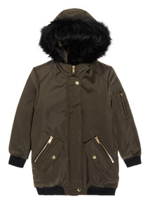 Green Parka Jacket (3-14 years)
