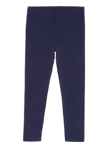 Navy Plain Leggings (3 - 12 years)