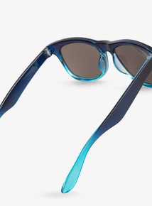 9e14fafbbb8 Blue Ombre Wayfarer Sunglasses (Small - Regular)