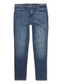 Mid Wash Skinny Denim Jeans