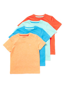 4 Pack Multicoloured T-Shirts (9 months-6years)