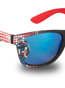 4a817e13715 Marvel Avengers Red   Black Sunglasses (One Size)