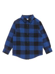 Blue Check Shirt (3-14 years)