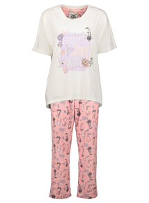 Disney Mary Poppins Cream & Pink Pyjamas