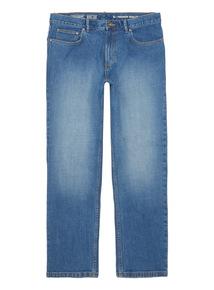 Denim Bright Wash Straight Stretch Jeans