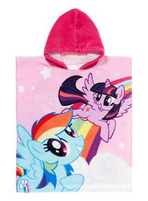 Girls Multicoloured My Little Pony Towel Poncho