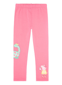 Pink Peppa Pig Dino Leggings (1 - 5 years)