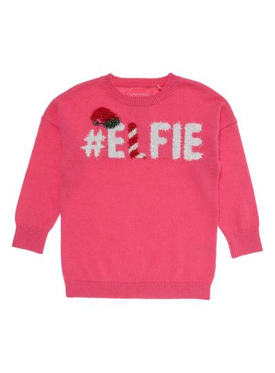 Pink Elfie Jumper (3-14 years)