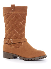 Quilted Long Leg Boot