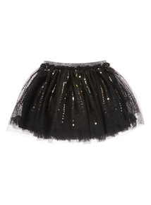 Black Party Skirt (3-14 years)