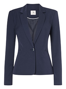 Online Exclusive Navy Smart Jacket