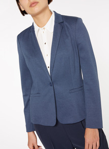 Navy Relaxed Fit Blazer