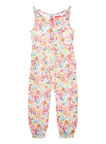 Girls Multicoloured Floral Jumpsuit (9 months - 6 years)