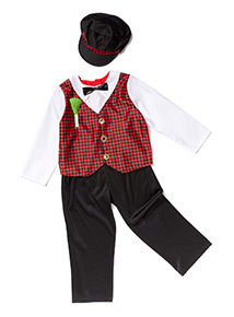 Multicoloured Welsh St. David's Costume (2-10 years)