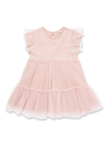 Pink Sparkle Dress (9 months-6 years)