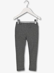 Grey Stripe Leggings (9 months-5 years)