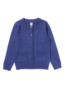 Navy Knitted Cardigan (9 months- 6 years)